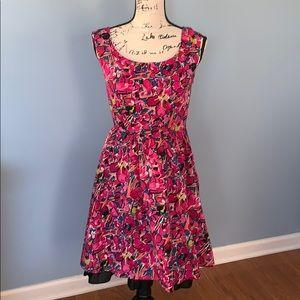 ANN TAYLOR multi-color size 0 dress